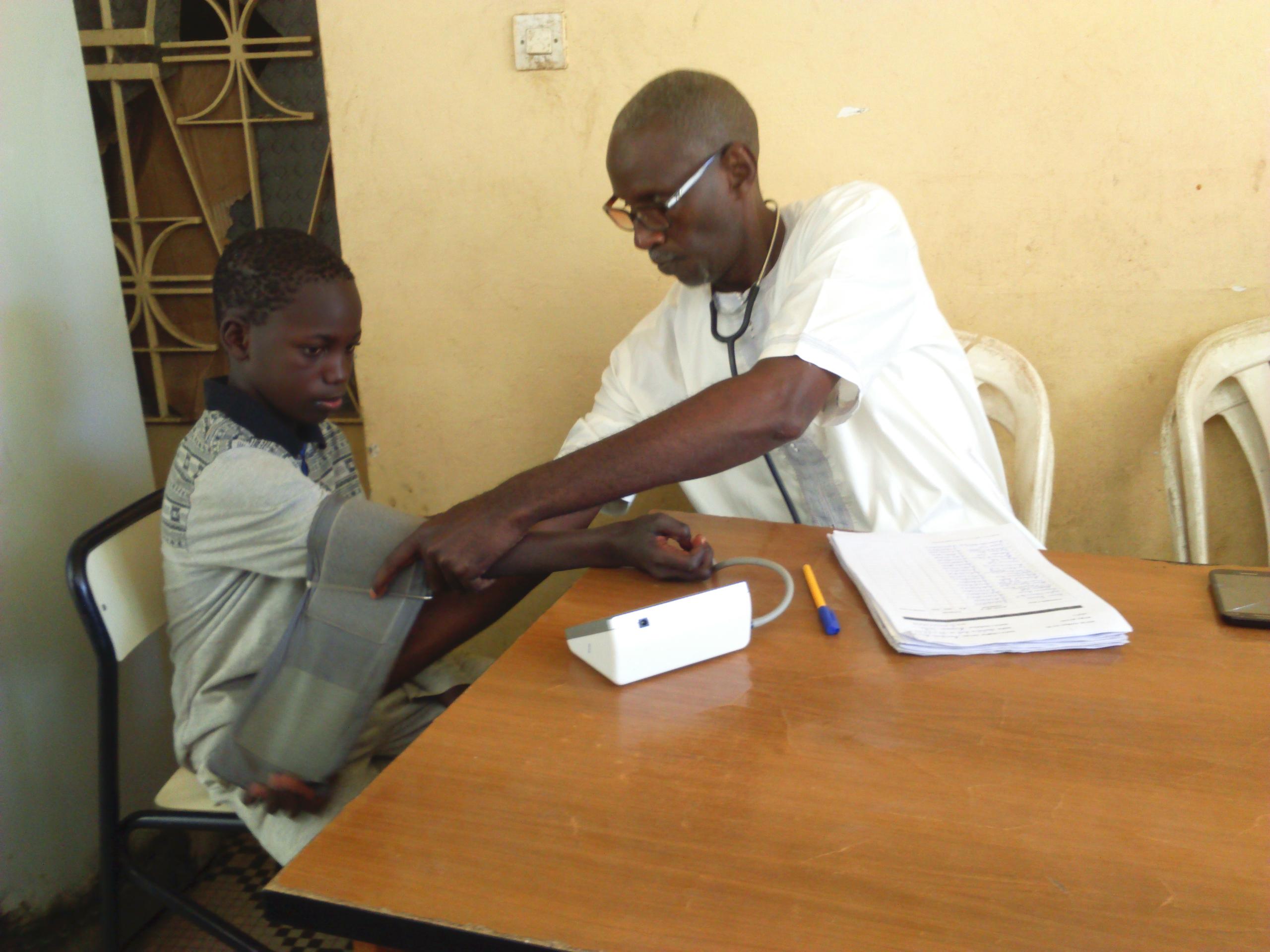 Consultation médicale des joueurs a la Fédération